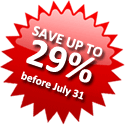 Save up to 29%